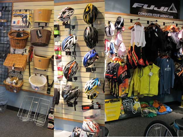 Bike Cycle Shop Cycling accessories at