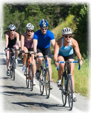 We rent road bikes